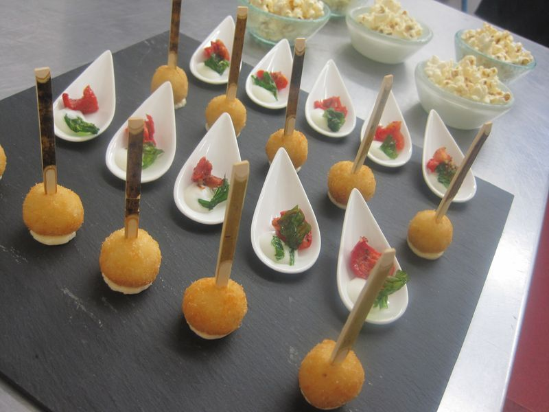 Canapes from the italian night eric snaith for Italian canape ideas